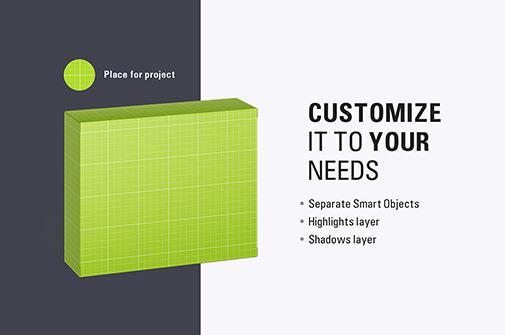 Free Presentative Cardboard Box Mockup PSD Template1 (1)