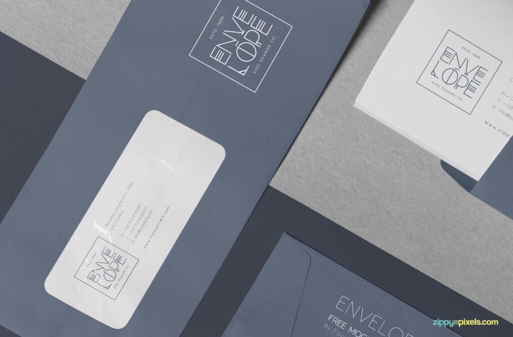 Free Professional Envelope Mockup PSD Template3 (1)