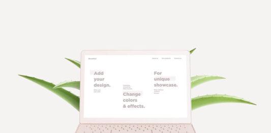 Free Scandi Vanilla MacBook & IMac Mockup Set PSD Template (1)
