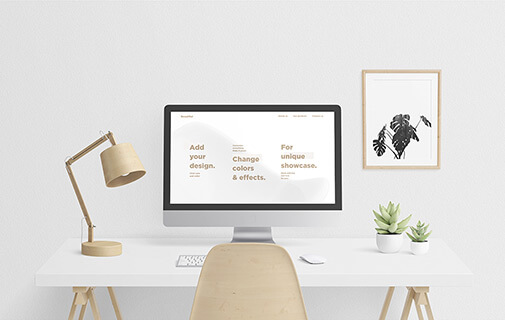 Free Scandi Vanilla MacBook & IMac Mockup Set PSD Template1 (1)