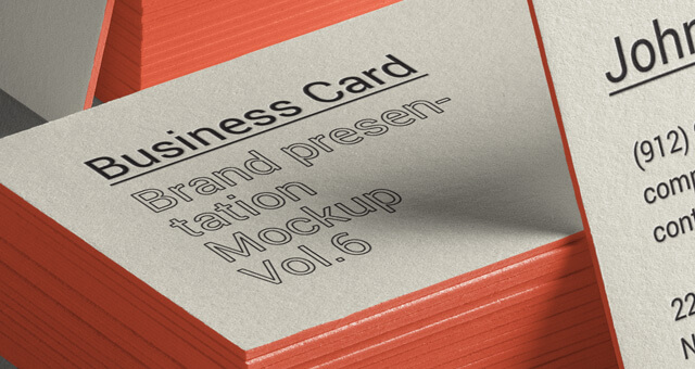 Free Side Viewed Business Card Brand Mockup PSD Template2 (1)