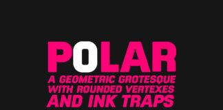 Free Social Moody Polar Regular Typeface (1)