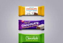Free Sweet Chocolate Packaging Mockup PSD Template (1)