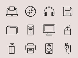 Free Utilizable Computer Vector Icons (1)