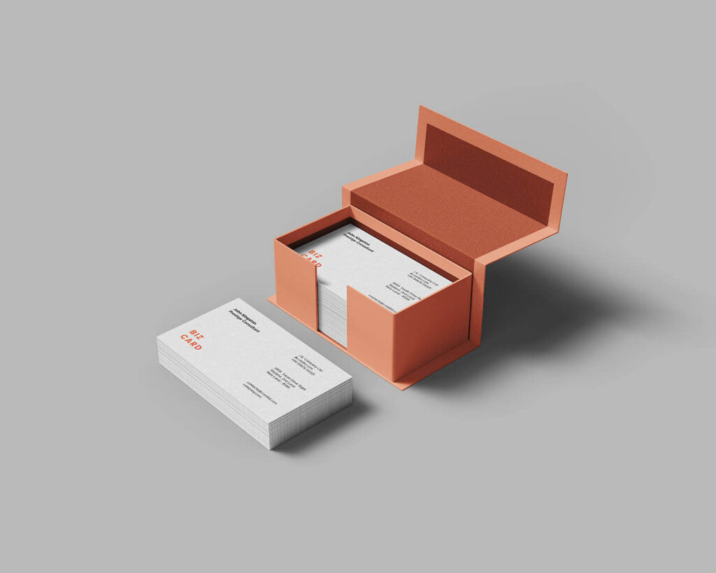 Free White Business Card Mockup PSD Templates (1)