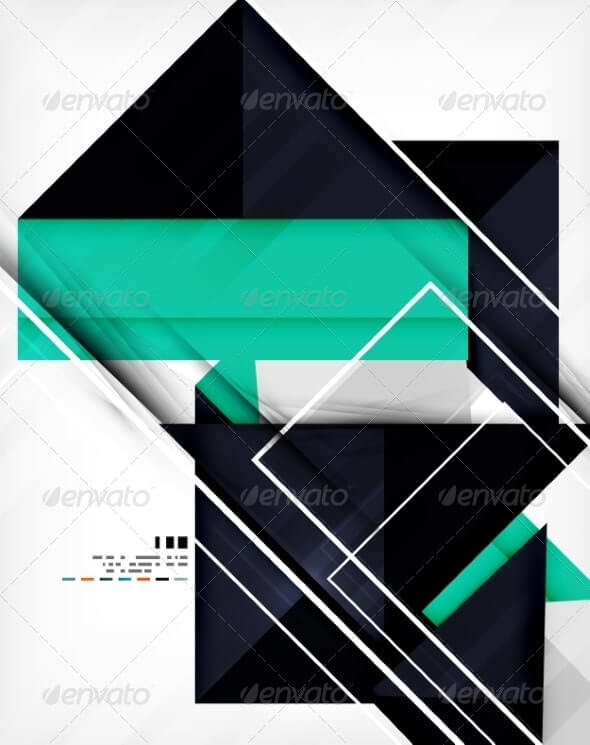 Geometric Shape Abstract Business Template (1)