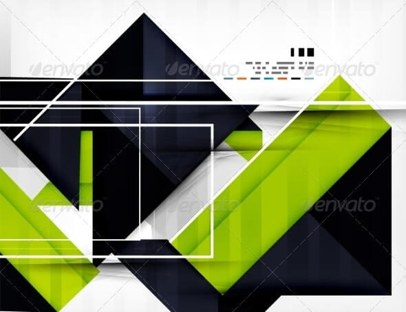 Geometric Shape Abstract Business Template (2)