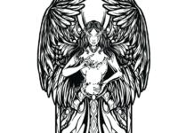 Guardian Angel Illustration