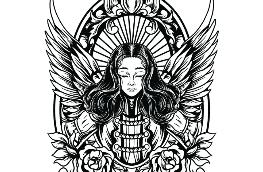 Guardian Angel Illustration1