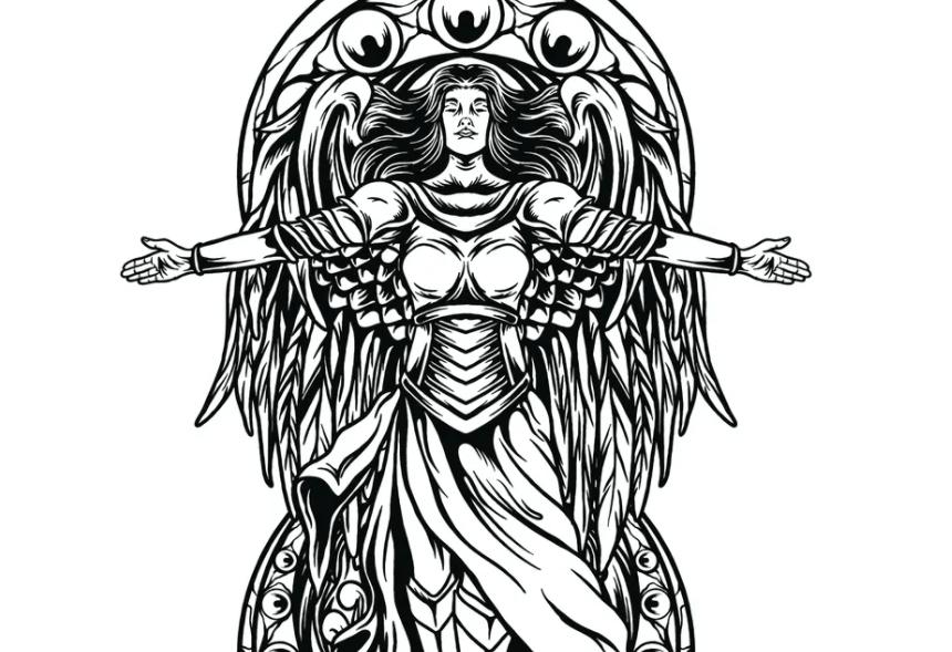 Guardian Angel Illustration2