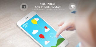 Kids Tablet and Phone Mockup (1)