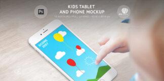 Kids Tablet and Phone Mockup (1)