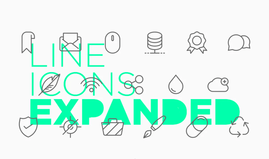 Line Icons Expanded