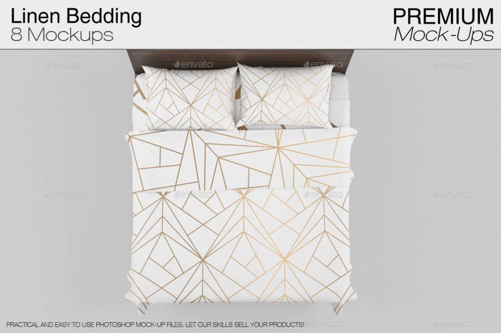 Linen Bedding Mockup (1)