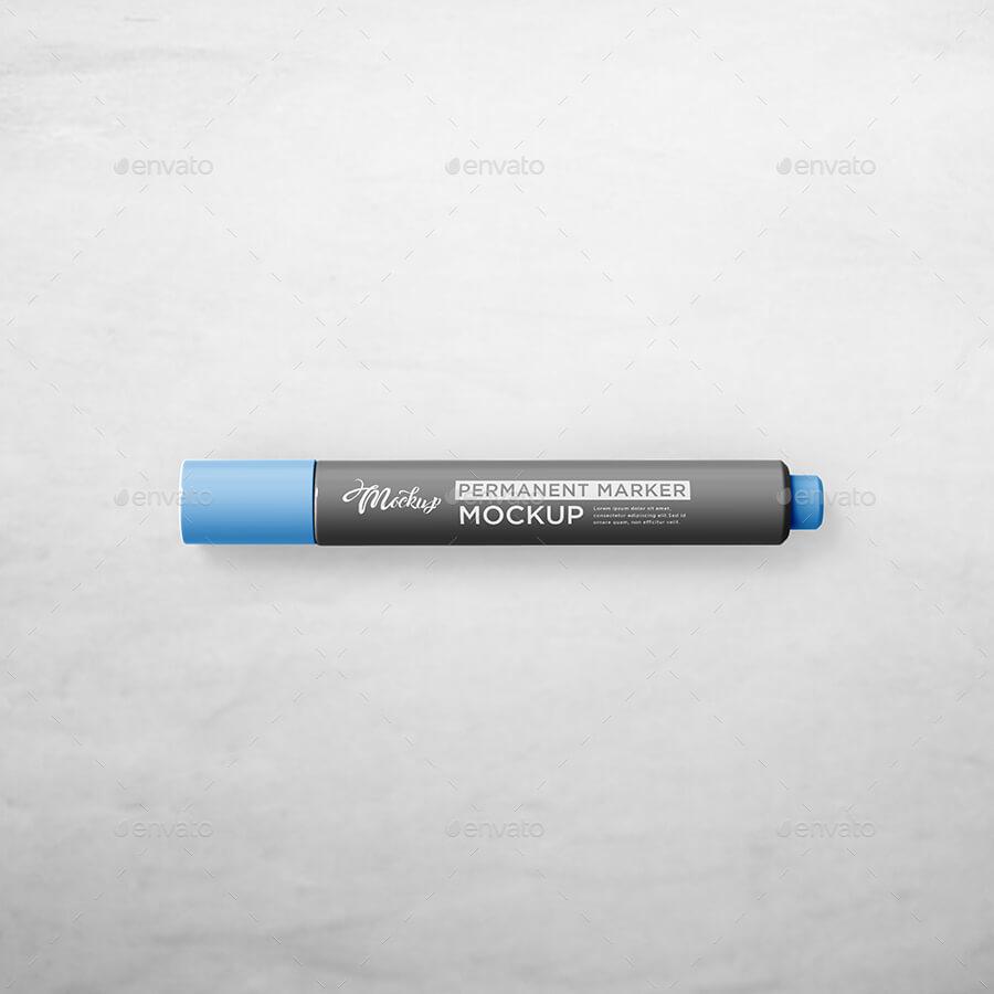 Marker Pen Mockup (1)