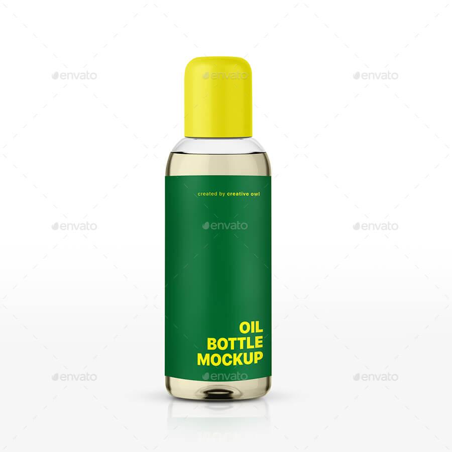Oil Bottle Packaging Mockup (1)