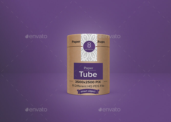 Paper Tube Packaging Mockup (1)