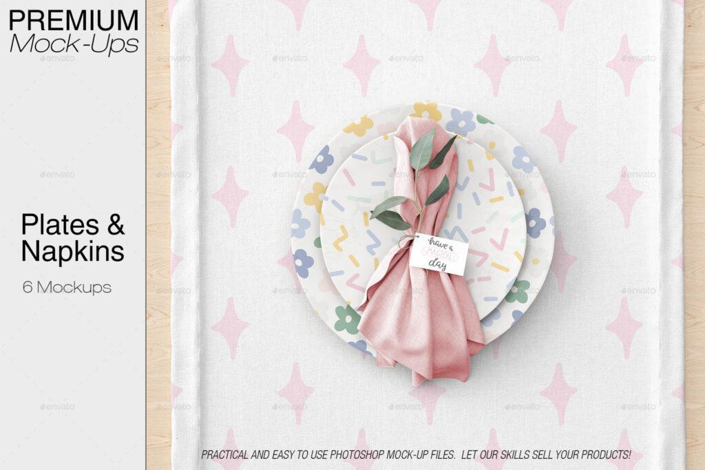 Plates & Tablecloth Set (1)