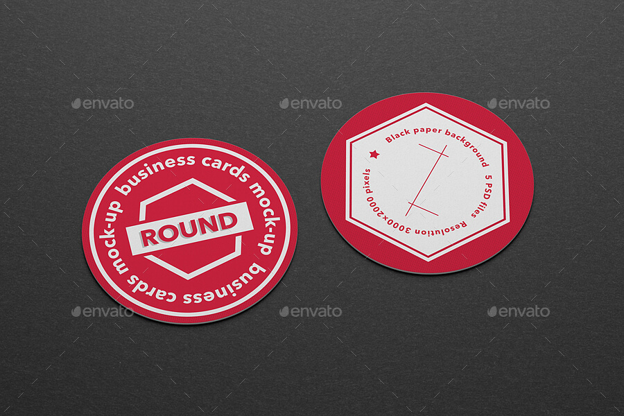 Round business cards mock-up (1)