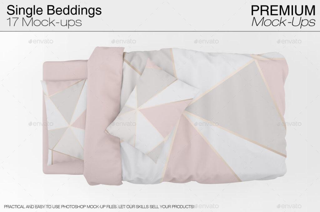Single Bedding Mockup Pack (1)