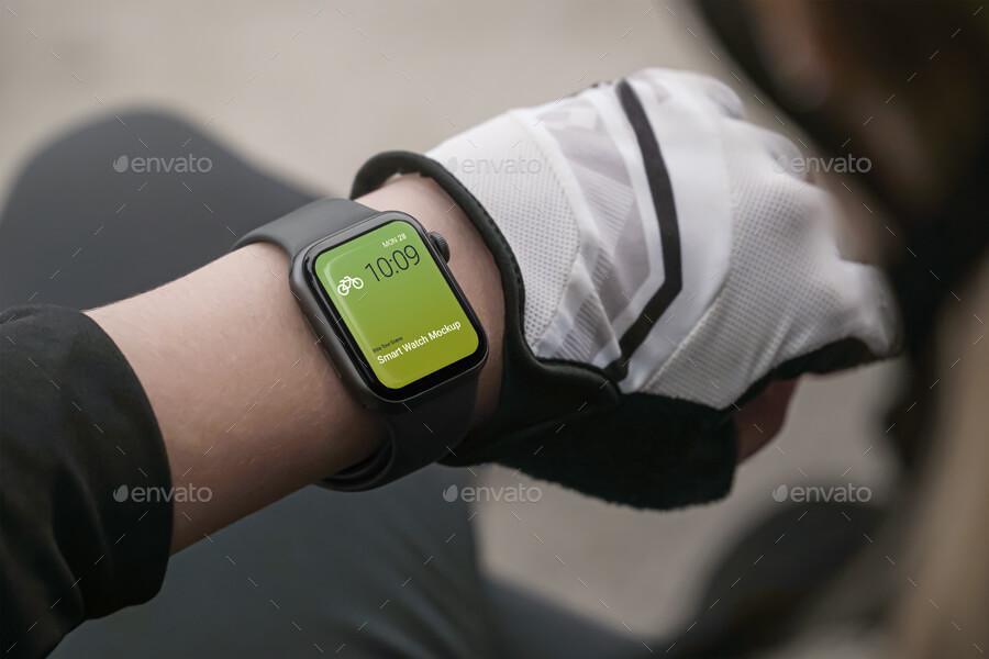 Smart Watch Mockup Bike Tour Scenes (1)