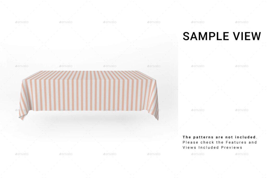 Square Tablecloth Set (1)