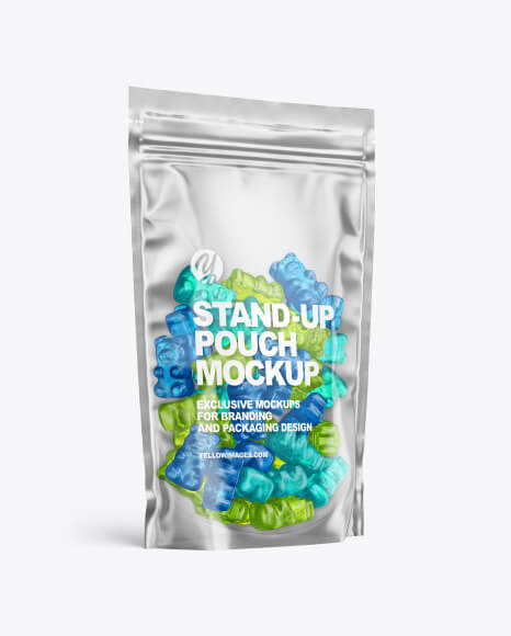 Stand-up Pouch with Gummies Mockup (1)