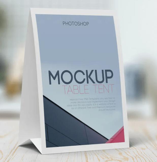 Table Tent Mockup1