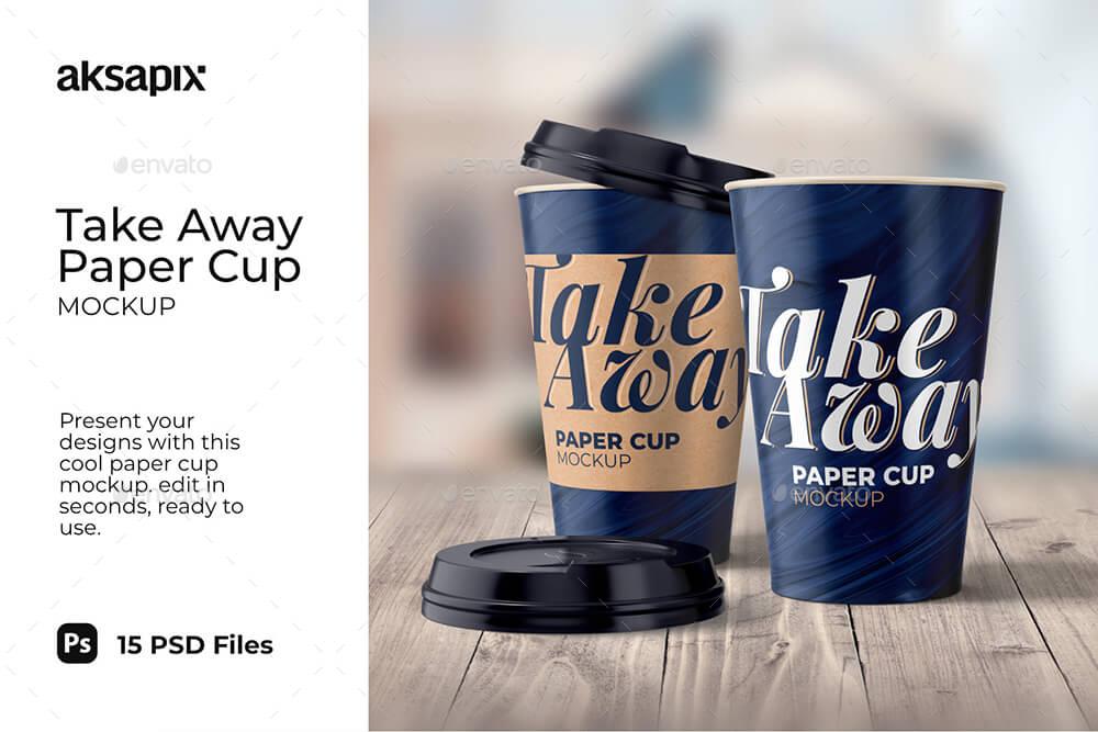 Take Away Paper Cup - Mockup (1)