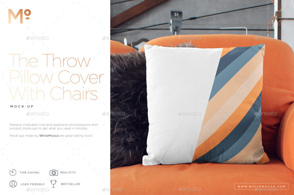 The Throw Pillow With Chairs Mock-up (1)