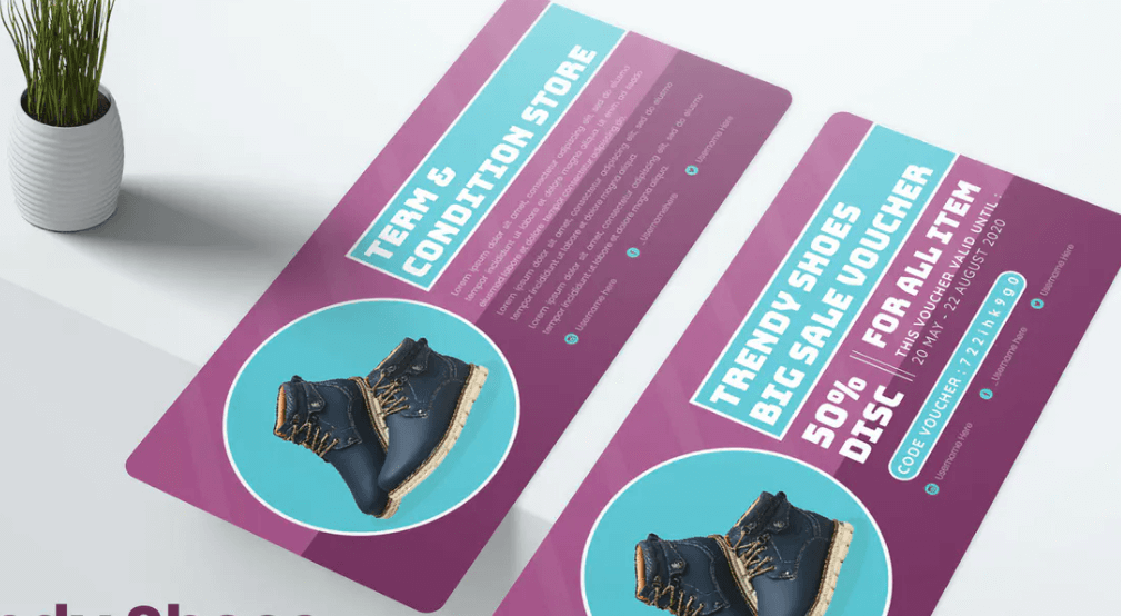 Trendy Shoes Gift Voucher
