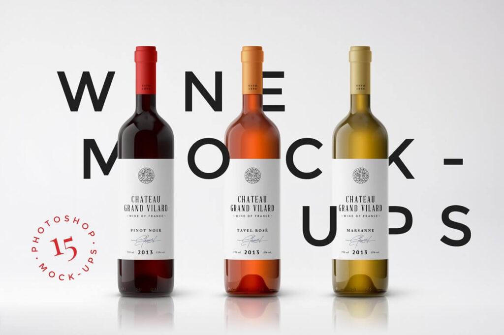 Wine Packaging Mockups (1)