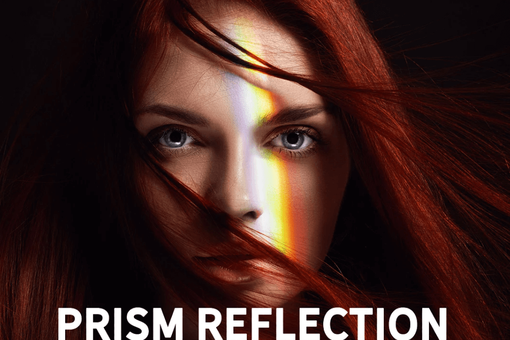 42 Prism Reflection Photo Overlays