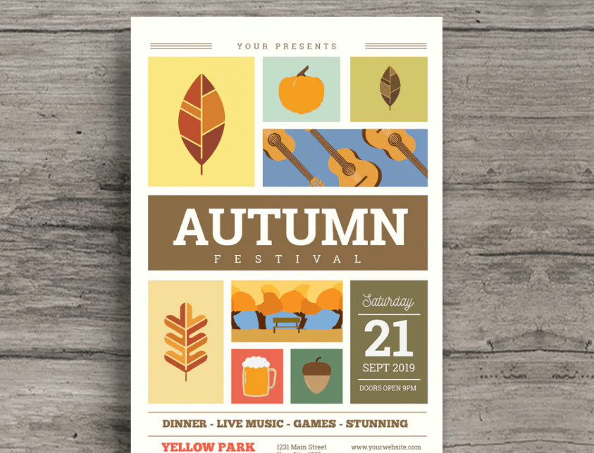Autumn Festival Flyer2