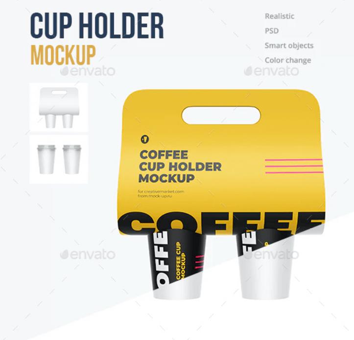CUP Holder Mockup