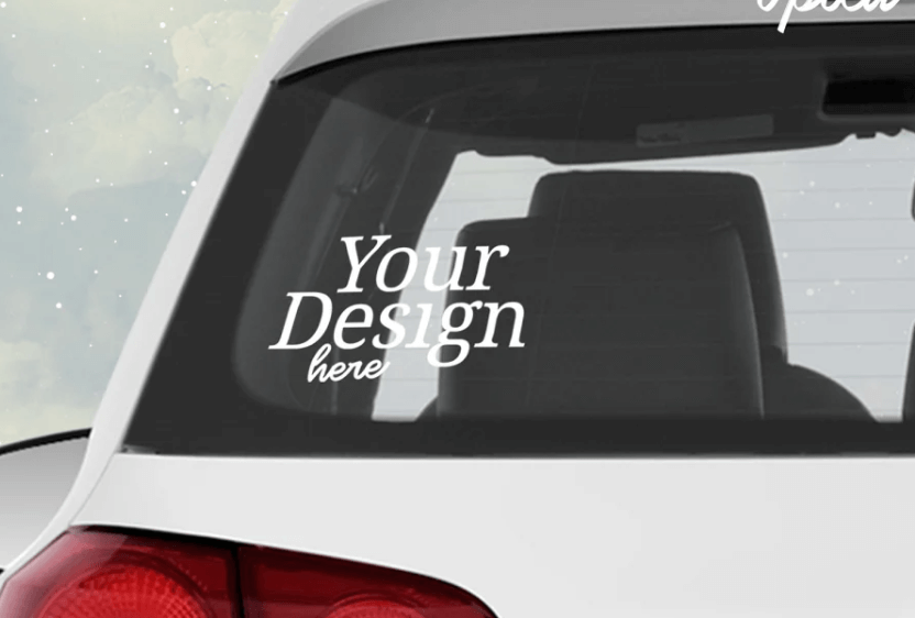 Car Decal 2 Mock Up