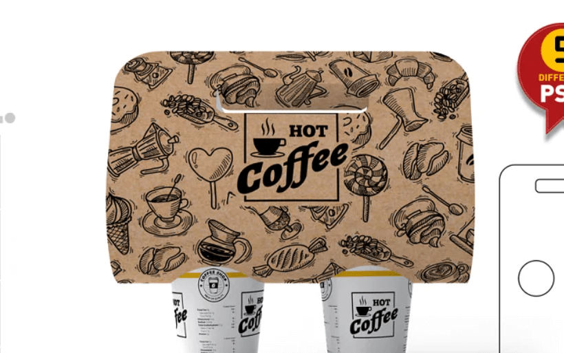 Coffee Take out Carrier