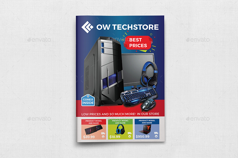 Computers and Electronics Products Catalog Brochure Bundle Template (1)
