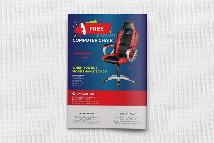 Computers and Electronics Products Catalog Brochure Template - 12 Pages (1)