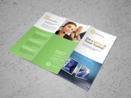 Corporate Trifold Brochure Vol.01