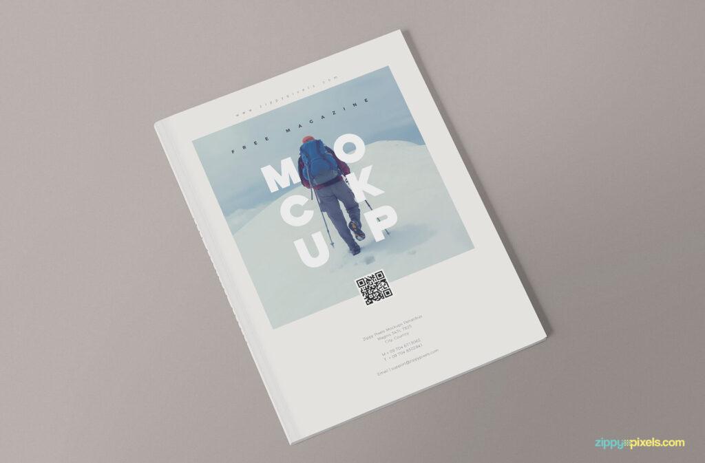 Free 3+ Magazine Mockup PSD Templates1 (1)