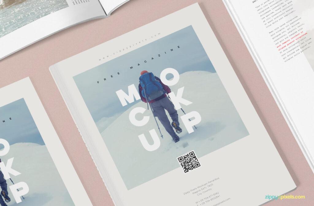 Free 3+ Magazine Mockup PSD Templates3 (1)
