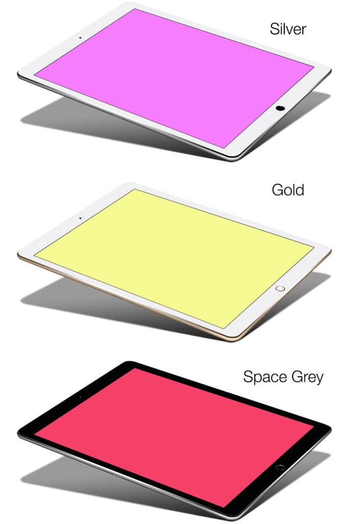 Free Apple iPad Pro Mockup PSD Template2 (1)