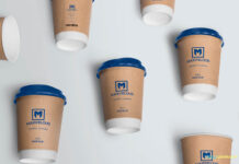 Free Awesome Coffee Cup Mockup PSD Template (1)