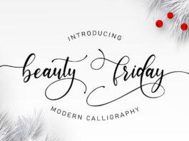 Free Beauty Friday Script Font (1)