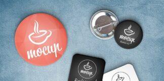 Free Button Badge Mockup Generator PSD Template (1)