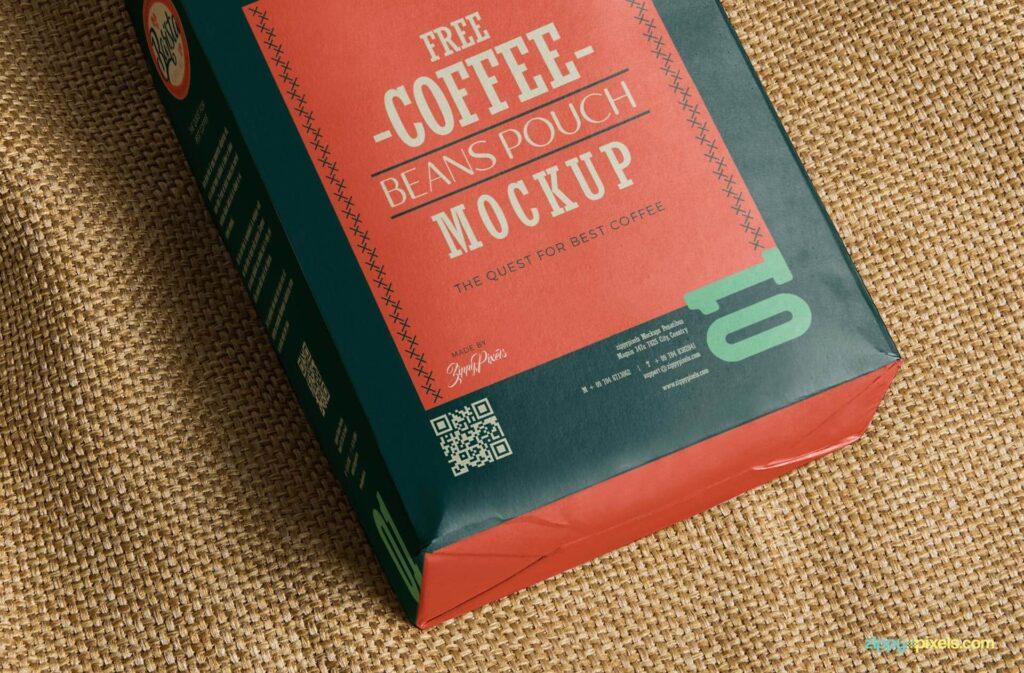 Free Classic Coffee Bag Mockup PSD Template3 (1)