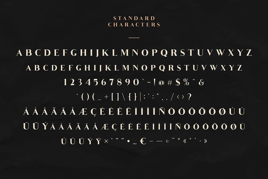 Free Groce Stylistic Serif Font1 (1)
