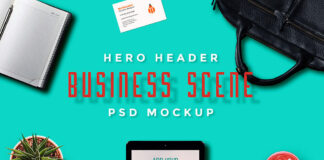 Free Hero Header Scene Mockup PSD Templates (1)
