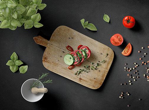 Free Italian Lunch Scene Creator Mockup PSD Template1 (1)
